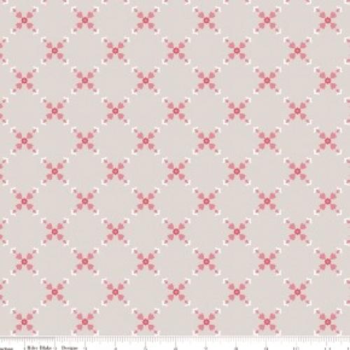 RILEY BLAKE - Hello, Lovely! - Diamond Floral Gray - #736