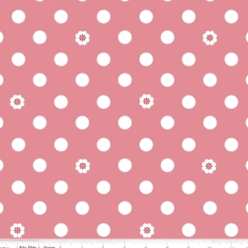 RILEY BLAKE - Hello, Lovely! - Dots Pink - #740