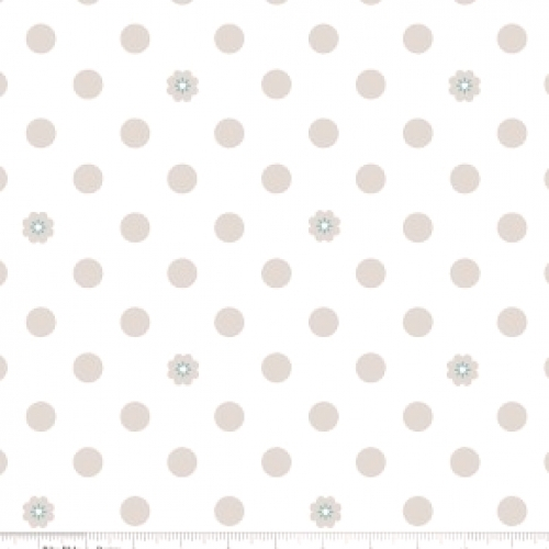 RILEY BLAKE - Hello, Lovely! - Dots White - #745