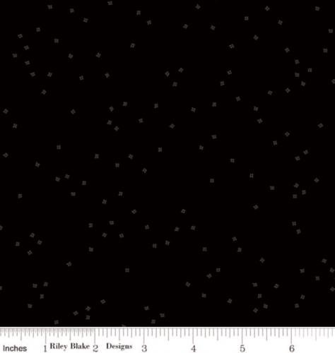RILEY BLAKE - Blossoms Tone on Tone in Color - Black ...