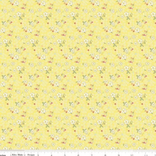 RILEY BLAKE-  Serendipity - Fleuri Yellow - #1948-