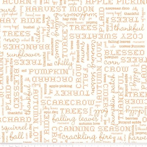RILEY BLAKE - Autumn Love - Cream - #1214-