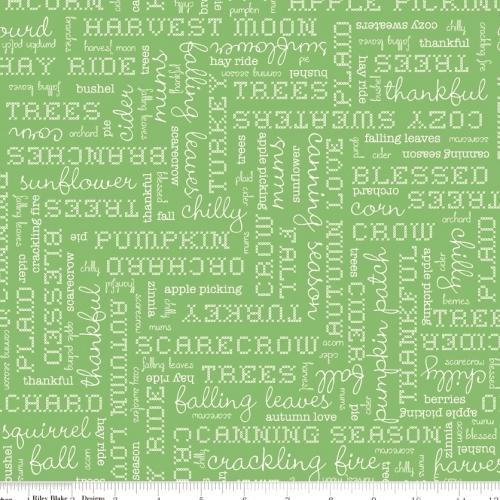 RILEY BLAKE - Autumn Love - Green - #1201-