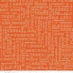 RILEY BLAKE- Autumn Love - Orange - #1213B-