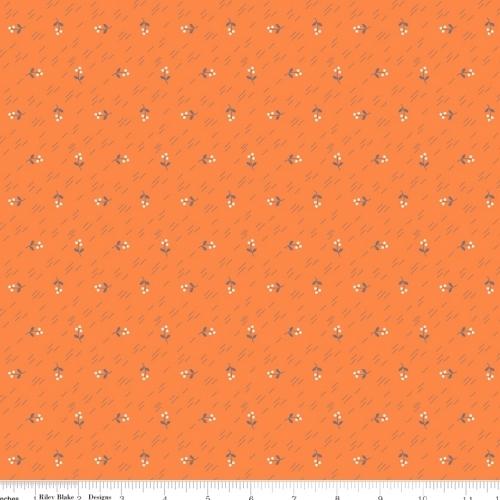 RILEY BLAKE - Autumn Love - Orange - #1210-