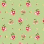 RILEY BLAKE - Summer Blush by Sedef Imer - Posie - Green
