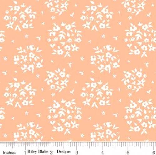 RILEY BLAKE - Summer Blush by Sedef Imer - Puff - Apricot