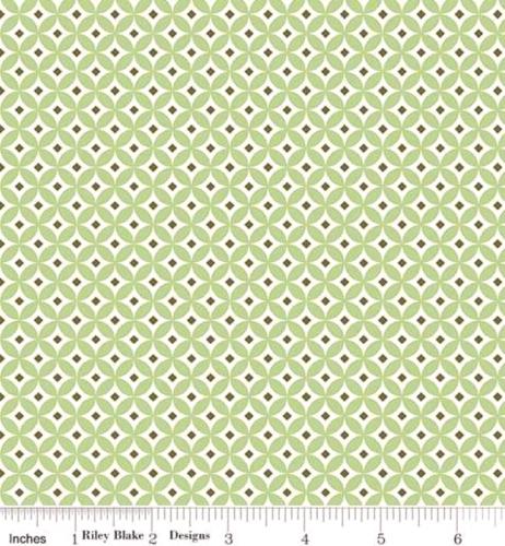 RILEY BLAKE - Summer Blush by Sedef Imer - Circle - Green