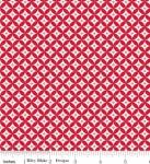 RILEY BLAKE - Summer Blush by Sedef Imer - Circle - Red