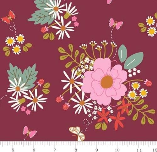 RILEY BLAKE - Wild Bouquet - Main - Merlot - #2910-