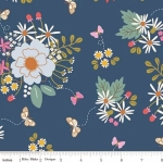 RILEY BLAKE - Wild Bouquet - Main - Navy