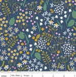 RILEY BLAKE - Wild Bouquet - Wildflowers - Navy