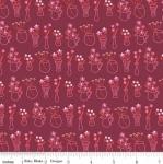 RILEY BLAKE - Wild Bouquet - Vases - Merlot - #2916-