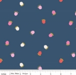 RILEY BLAKE - Wild Bouquet - Raspberries - Navy - #3098-