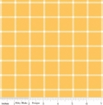 RILEY BLAKE - Wild Bouquet - Plaid - Mustard - #2922-