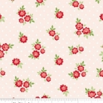 PENNY ROSE FABRICS - Harry & Alice -Cream - Floral - #1543-