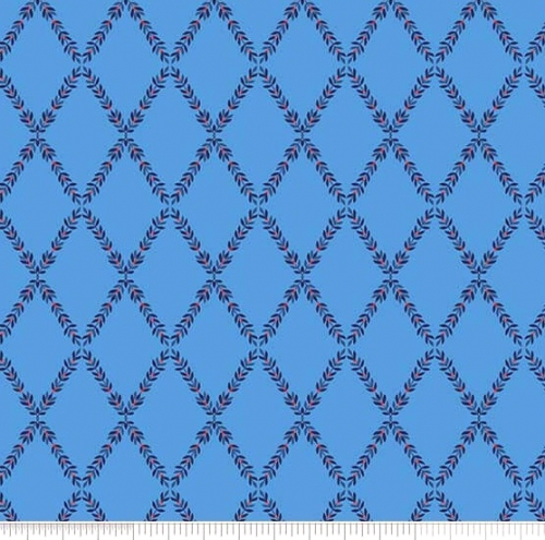 PENNY ROSE FABRICS - Harry & Alice - Blue - #1542-