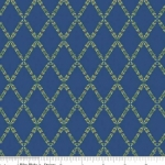 PENNY ROSE FABRICS - Harry & Alice - Blue - #1541-