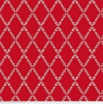 PENNY ROSE FABRICS - Harry & Alice - Red - #1534-