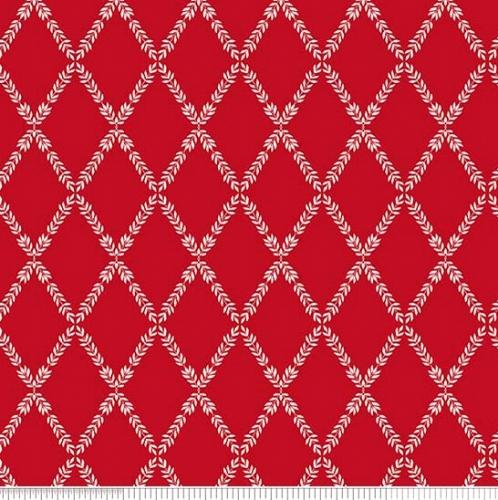 PENNY ROSE FABRICS - Harry & Alice - Red - #1534-
