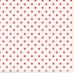 PENNY ROSE FABRICS - Harry & Alice - Red Stars - #1689-