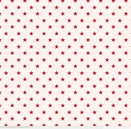 PENNY ROSE FABRICS - Harry & Alice - Red Stars - #1689-