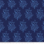 PENNY ROSE FABRICS - Harry & Alice - Blue -  Floral - #1548-