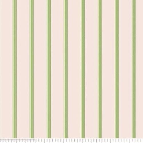 PENNY ROSE FABRICS - Harry & Alice - Green -  Stripe - #1536-