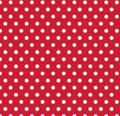 PENNY ROSE FABRICS - Harry & Alice - Red Dots - #1552-