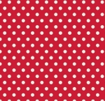 PENNY ROSE FABRICS - Harry & Alice - Red Dots - #1552-