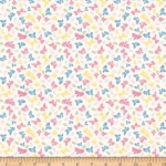 PENNY ROSE FABRICS - Petite Treat - Cream - #2156-