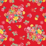 RILEY BLAKE - Hand Picked Collection - Red Floral - #2143-