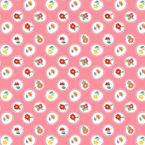 RILEY BLAKE - Hand Picked Collection - Pink Circle - #2141-