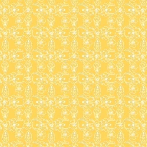 RILEY BLAKE - Hand Picked Collection - Yellow Retro - #2136-