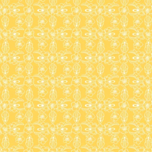RILEY BLAKE - Hand Picked Collection - Yellow Retro