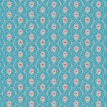 RILEY BLAKE - Hand Picked Collection - Aqua Trellis - #2135-