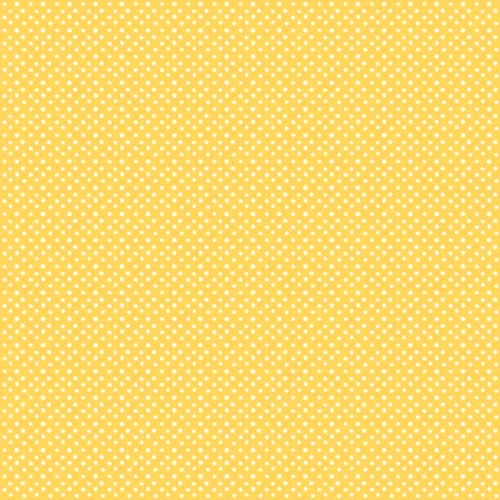RILEY BLAKE - Hand Picked Collection - Yellow Polka Dot
