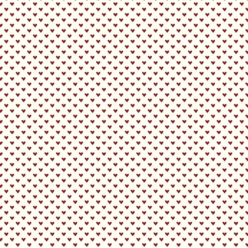 RILEY BLAKE - Hello Sweetheart - Cream Mini Hearts