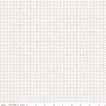 MODA FABRICS - So Ruby - Pin Dots Red on White