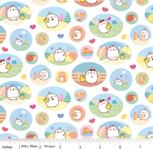 RILEY BLAKE - Molang - Patches - White
