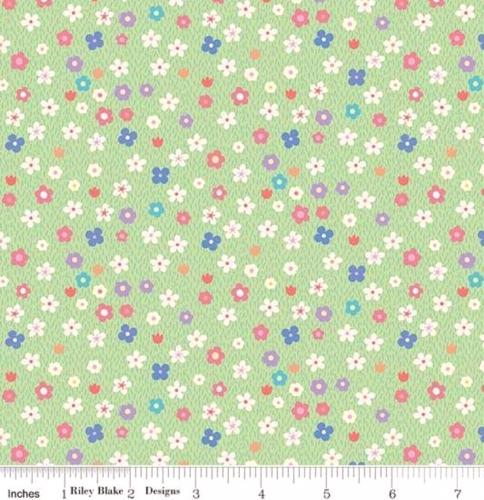 RILEY BLAKE - Molang - Flowers - Green - #2033-