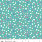 RILEY BLAKE - Molang - Flowers - Teal