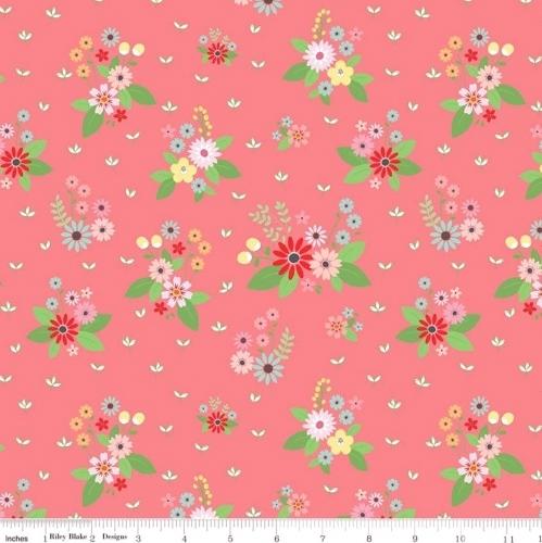 RILEY BLAKE - Vintage Keepsakes - Pink Floral - #1998-
