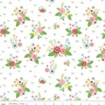 RILEY BLAKE - Vintage Keepsakes - White Floral - #1996-