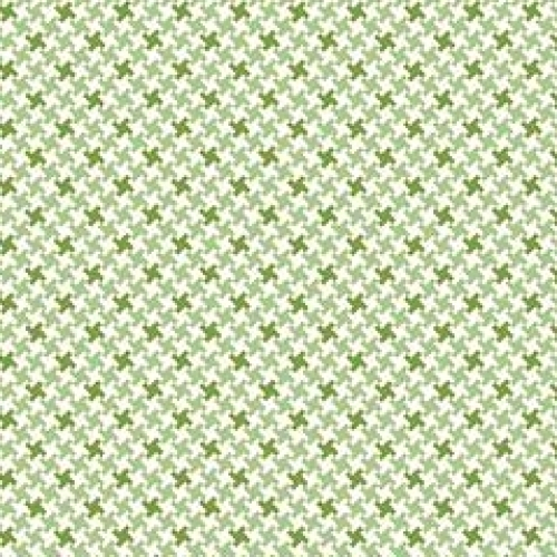 RILEY BLAKE - Farm Girl Vintage - Green Houndstooth - #2361-