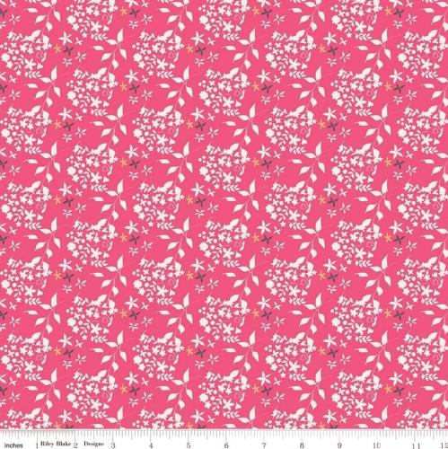 RILEY BLAKE - Someday - Flowers Hot Pink - #1841
