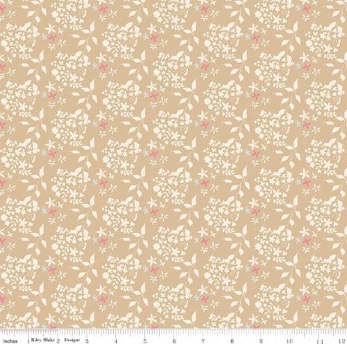 RILEY BLAKE - Someday - Flowers Tan - #1838