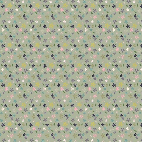 RILEY BLAKE - Mary Elizabeth - Daises - Green - FB7863-
