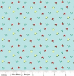 RILEY BLAKE - Simple Goodness by Tasha Noel - Mini Flowers - Aqua