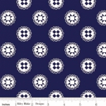 RILEY BLAKE - Simple Goodness by Tasha Noel - Quilt Stars - Navy